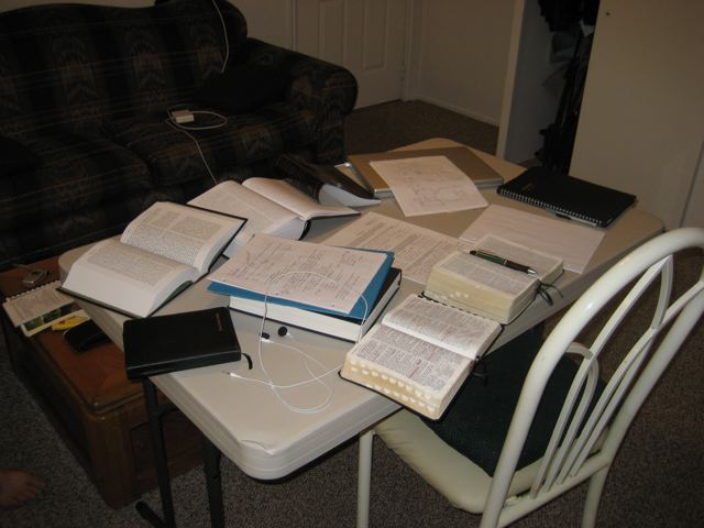 My Studying Desk